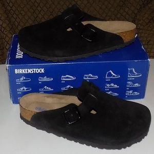 New Birkenstock Boston softbeds suede EU40 US9